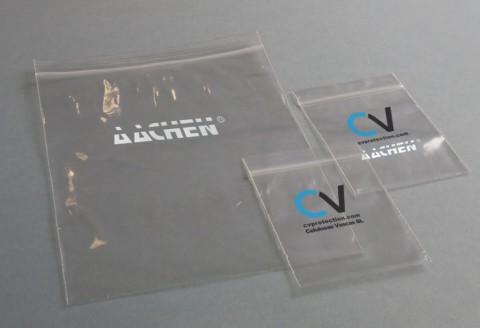 ZIP Beutel mit Logo, gedruckte Beutel